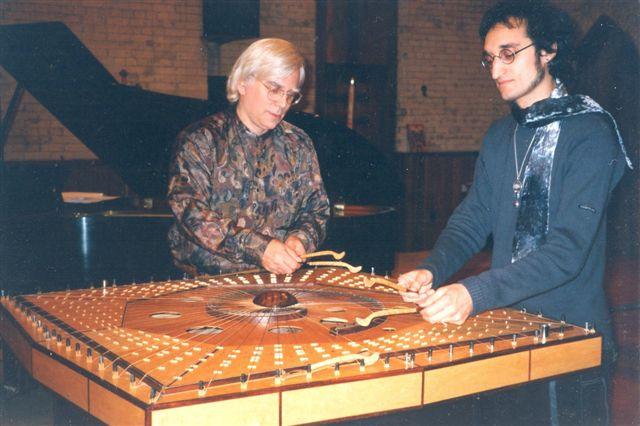 2001-10-28 Robin Armstrong & Michael Moon