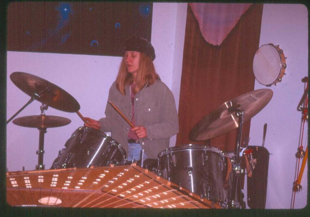 Lisa Swarbrick Drums Celestial Harp