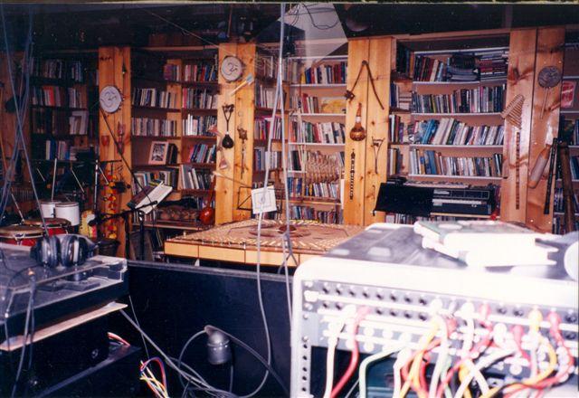 Recording studio at Star Centre
