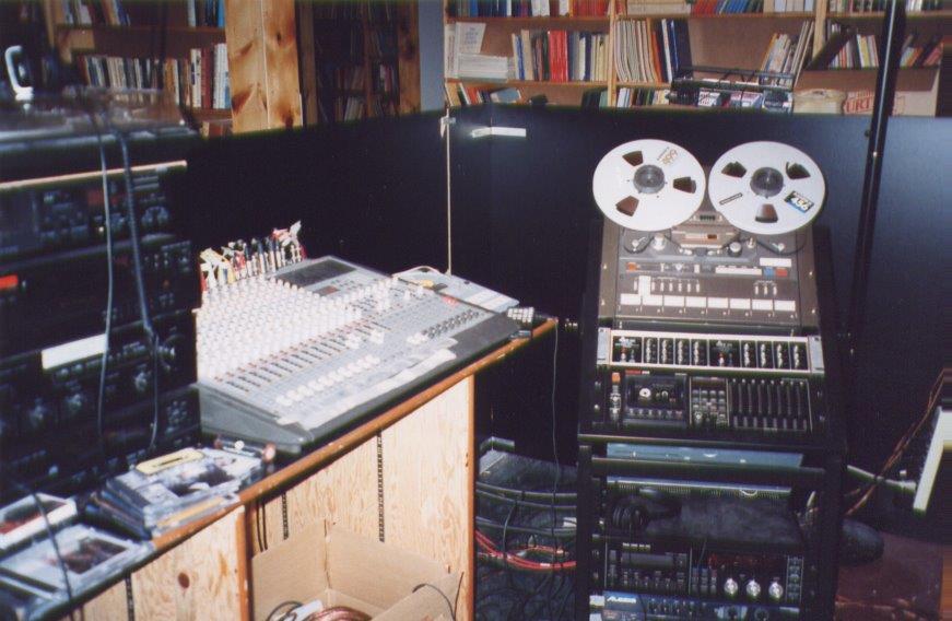 The Star Centre Recording Studio.
