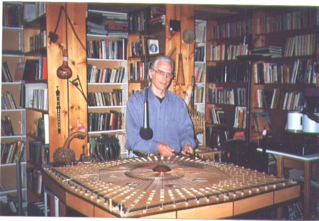 Robin Armstrong playing Celestial Harp