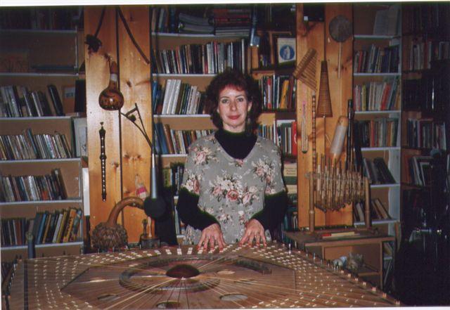 Nanci Ahern on Celestial Harp