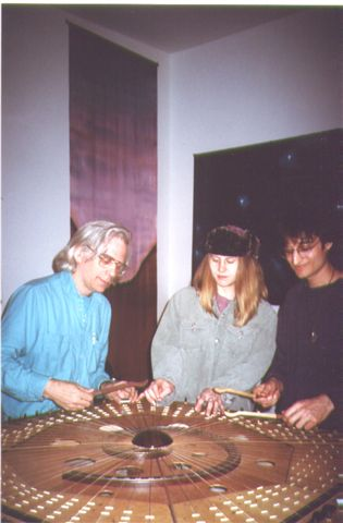 Robin, Lisa Swarbrick, Michael Moon on Celestial Harp-3