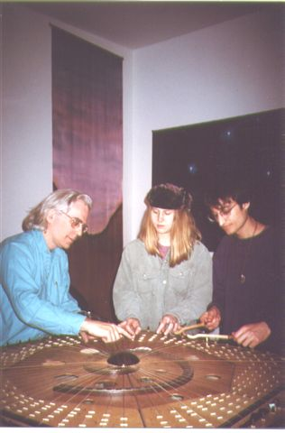 Robin, Lisa Swarbrick, Michael Moon on Celestial Harp-4