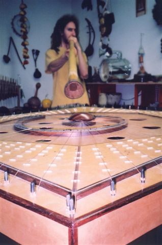 Jesse Fromowitz digeridoo + Celestial Harp 1