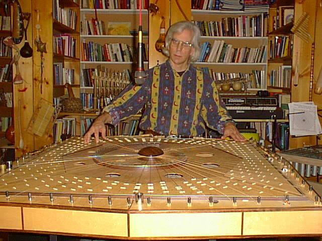 Robin Armstrong on Celestial Harp-11